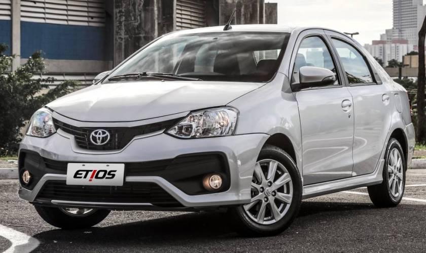 Toyota Etios Sedan 2020 virá Equipado com Kit GNV