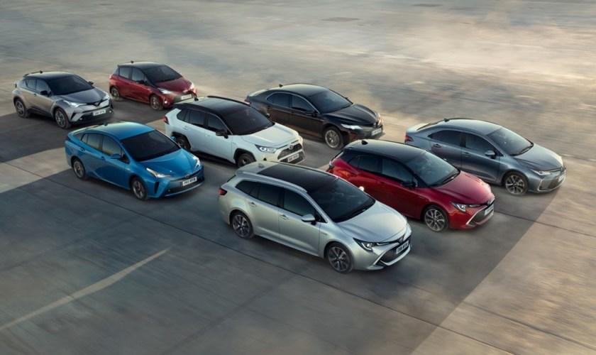 Em Portugal: Toyota é Líder de Vendas de Veículos Eletrificados