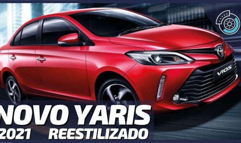 Novo Toyota Yaris 2021 Ganha Reestilização e Chega ao Brasil