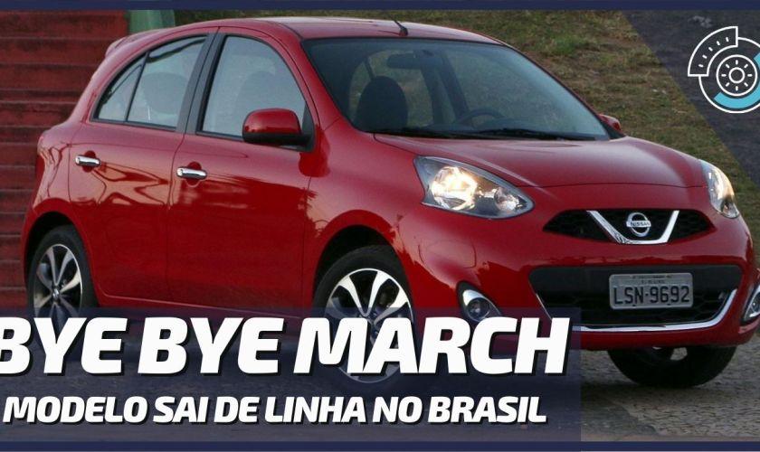 URGENTE!!! Nissan Confirma Fim da Produção do Nissan March no Brasil