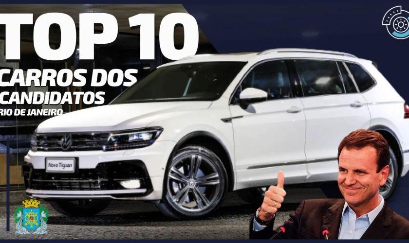 Os Top 10 Carros dos Candidatos a Prefeito do Rio de Janeiro-RJ