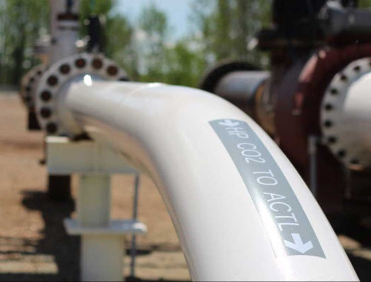 The240-kilometre Alberta Carbon Trunk Line captures industrial emissions and delivers the carbon dioxideto use in enhanced oil recovery and for permanent storage.