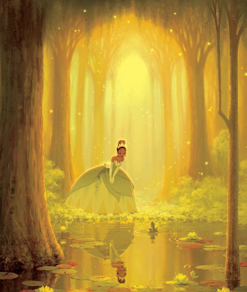 The Princess and the Frog  Corona Coming Attractions