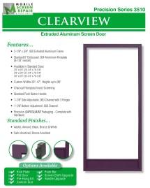 Aluminum Screen Doors Page 10