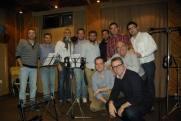 estudios la moyareja sevilla - grabacion disco navidad rociera - coro rociero de la borriquita montoro (3)