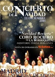concierto coro rociero borriquita villaviciosa odon madrid