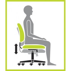 Ergonomic Chair Settings Stressless Prices Stella Task Seat Height Adjustment