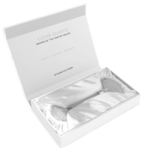 Teami Clear Quartz Facial Roller Open Box