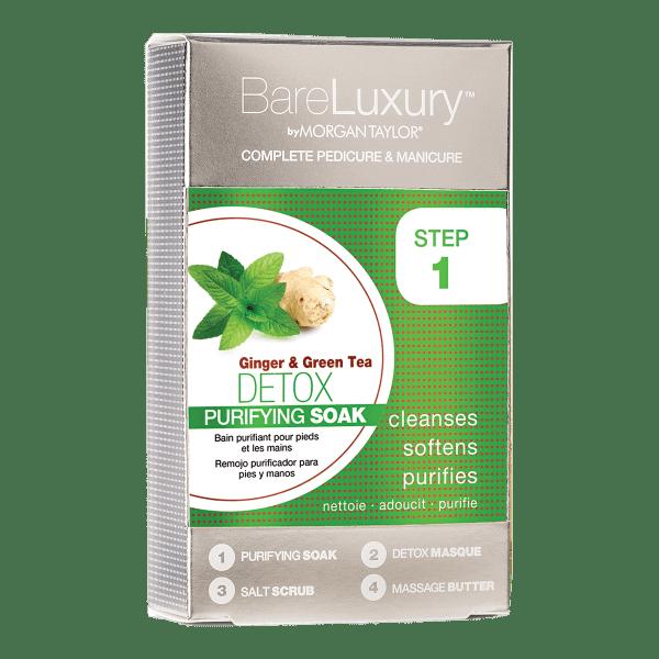 Bare Luxury Detox Ginger & Green Tea Pack CorpoCare