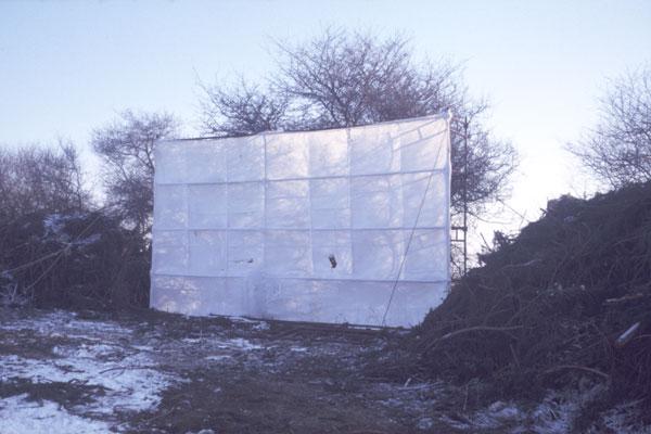 1987. L'écran géant.