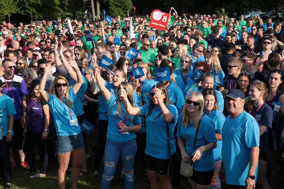 UK Corporate Games Nottingham 2017 Hailed as a Resounding Success