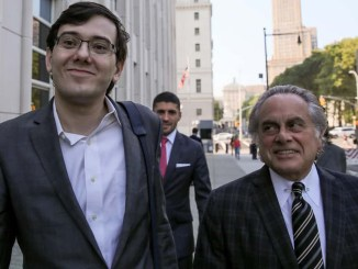 Martin Shkreli was convicted of federal fraud charges on August 4, 2017 in Brooklyn, NY.