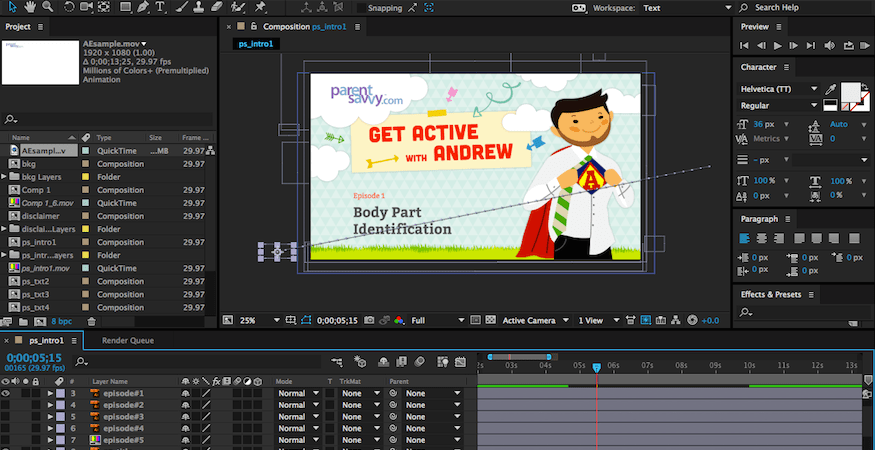 How To Animate Adobe Illustrator Files In After Effects