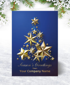 2018 Corporate Christmas Cards Personalised Charity Xmas