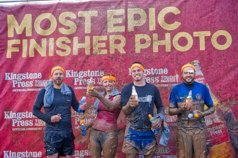 Tough Mudder North West 2017 Epic Finish