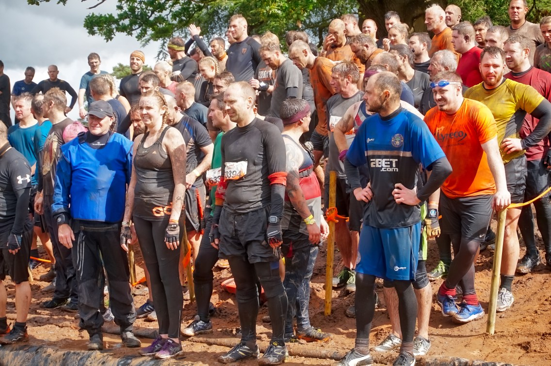 Tough Mudder North West 2017 Waiting