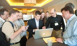 corporate event photographer boston-networking-527