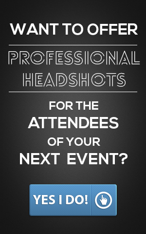 offer headshots at boston corporate event