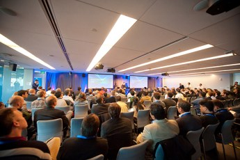 corporate event photographer boston-full room-505