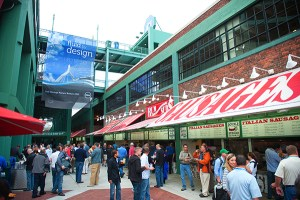 corporate event photographer boston social outing event fenway park photo 504