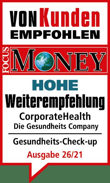 Hohe Weiterempfehlung_2021_CorporateHealth