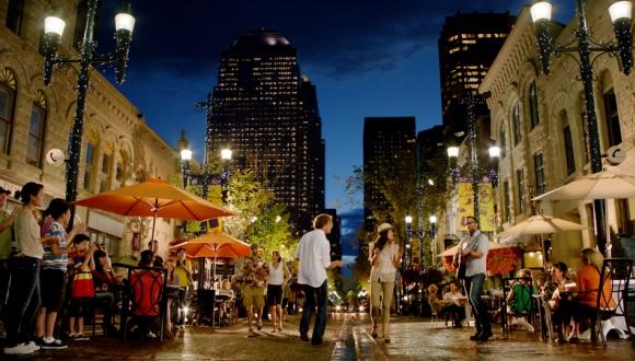 Take a stroll through the neighborhoods of Calgary