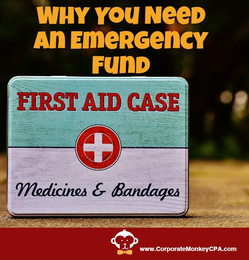 Emergency Fund:  The First Step to Financial Independence