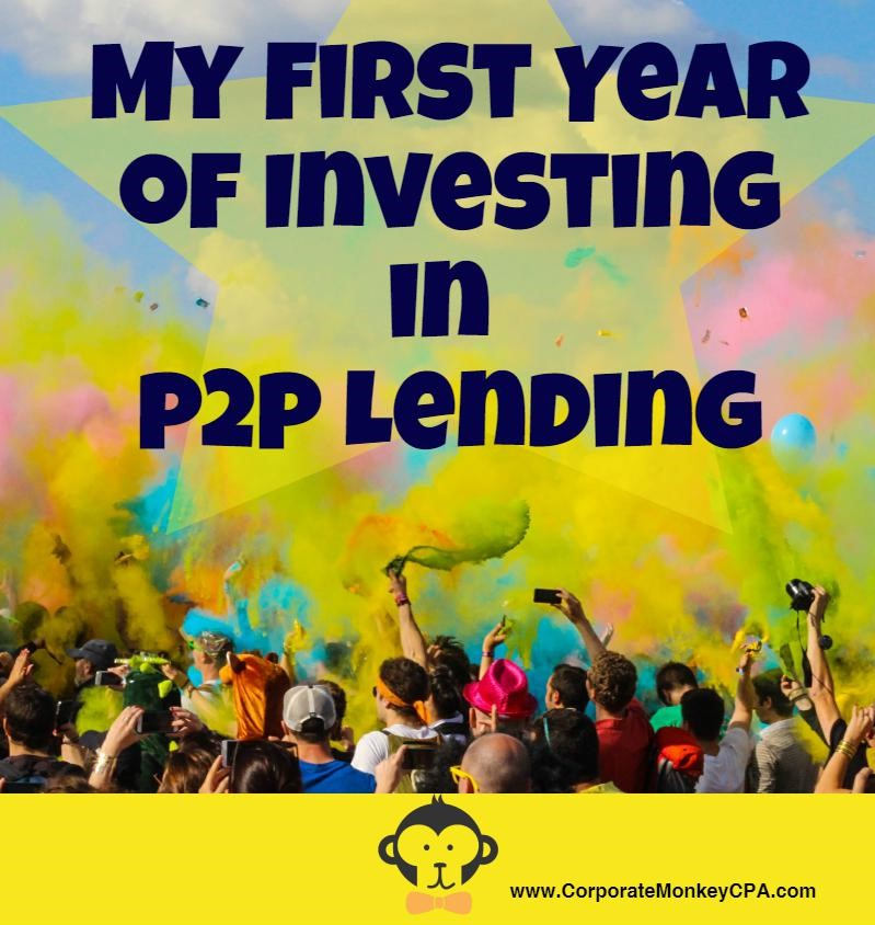 Investing in P2P Lending - My First Year