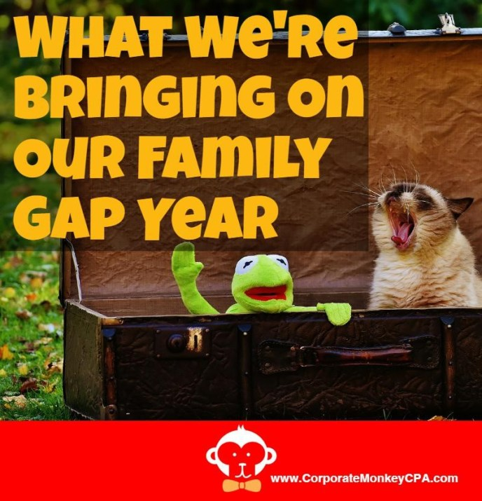 What We'll Pack For Our Family Gap Year