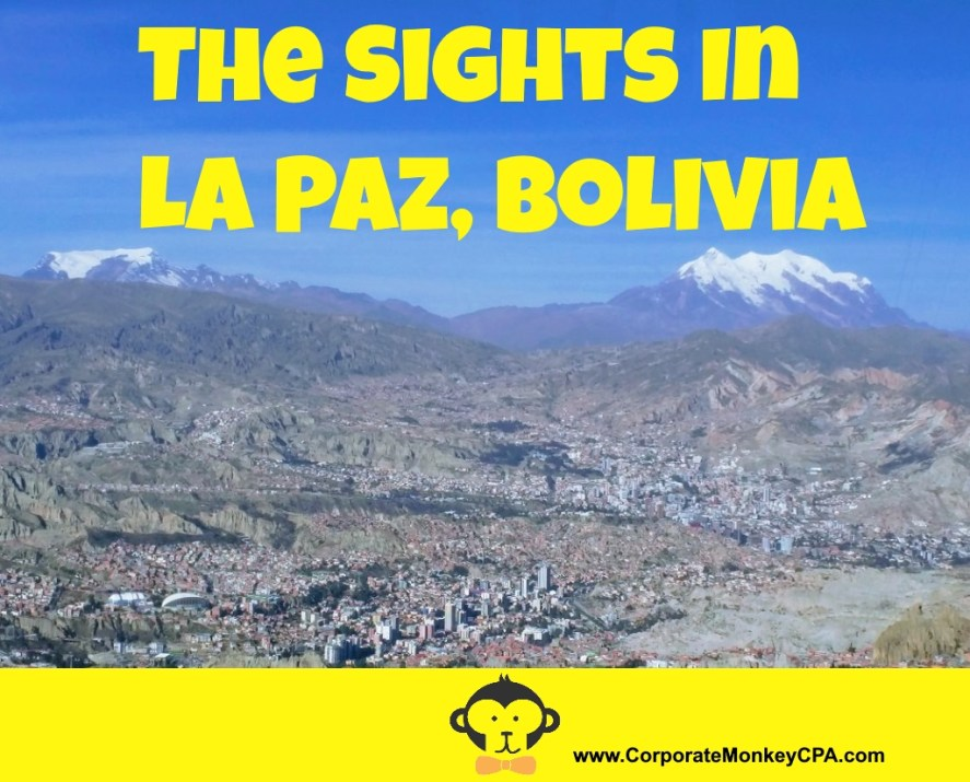 The Sights In La Paz Bolivia