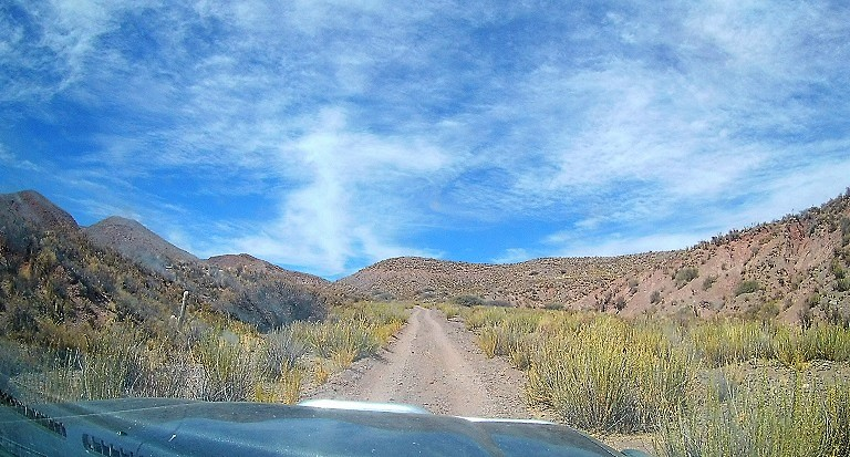 A jeep track in Southwest Bolivia
