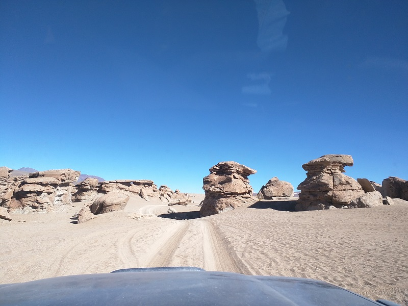 Seems like the scene of pod races, Atacama desert Bolivia
