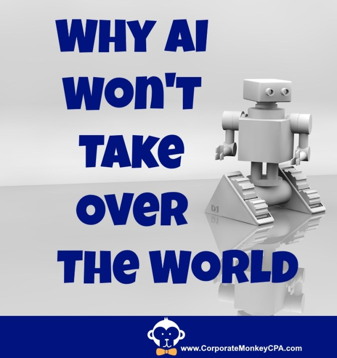 Why AI Won't Take Over The World