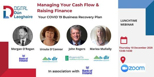 Managing Your Cash Flow & Raising Finance – Your COVID-19 Recovery Plan
