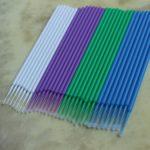 SUPVOX 400pcs applicateur micro jetables brosses extension de cils coton tige mascara brosses baguettes