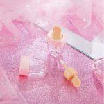 EOPER 10 Pièces 4 g Mini Conteneur Bouteilles de Lipgloss, Vide Cosmétique Emballage Tubes de Glaçure Brillant À Lèvres, Rechargeable Échantillons Flacons Tubes de Rouge À Lèvres pour Voyage