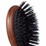 Plisson Brosse À Cheveux De Sac/Sa Pochette Coton 100% Sanglier