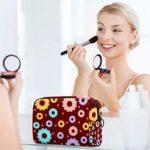 Sac cosmétique Love Donut Adorable spacieux Sacs de maquillage Voyage Trousse de toilette Sac de rangement Accessoires Organisateur