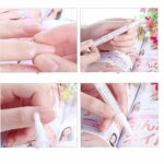 100 ml de 5 Pack 3 conteneur brillant conteneur cosmétique pinceau applicateur stylo brillant à lèvres tube vide transparent de vernis jetable torsadée à lèvres maquillage de milieu de crois