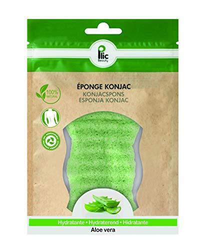 Eponge Konjac PLIC pour le corps à l'Aloe Vera