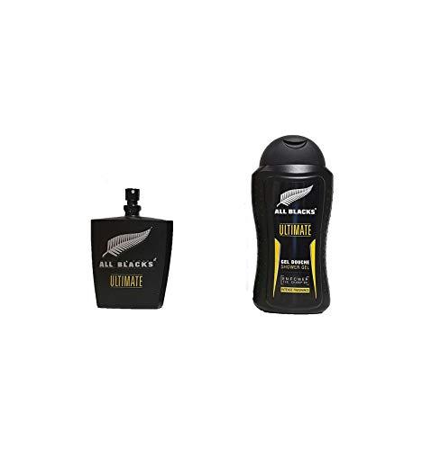 ALL BLACKS Coffret rugby – Eau de toilette +gel douche Ultimate