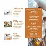 La Maison des Sultans – Savon Masque Lait de Chèvre et Huile d'Argan – Nettoie la Peau – Agit sur les Imperfections – Doux – Ingrédients 99% Naturels – Fabriqué en France – 100g