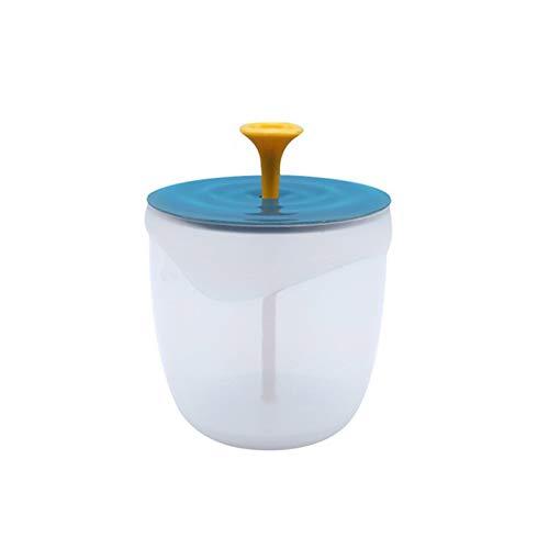 Lasamot Mousse nettoyant pour le visage tasse de lavage du corps fabricant de bulles barboteur pour outil de nettoyage du visage fabricant de mousse tasse à bulles mousse Portable fabricant de mousse