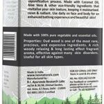 Savon de bain Glamorous Hub Lass Naturals Oud Savon de bain aux herbes aux huiles essentielles de qualité thérapeutique 125 G (paquet de 6) Soins de la peau (l'emballage peut varier)