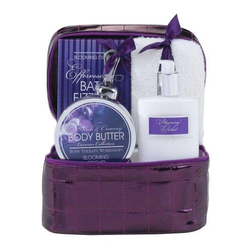 Body Therapy Workshop – Coffret de Bain Luxuries Collection Orchidée – Violet