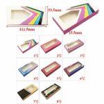 HLWJ Coups de Fouet holographiques boîte 20/50/100 / 200pcs Cils en Papier Doux Emballage for Faux Cils (Color : Q, Size : 100box)