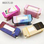 HLWJ Coups de Fouet holographiques boîte 20/50/100 / 200pcs Cils en Papier Doux Emballage for Faux Cils (Color : S, Size : 100box)