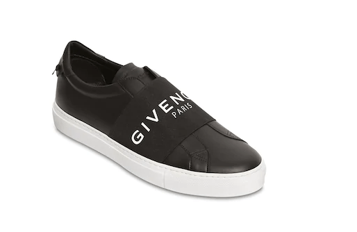 "GIVENCHY SNEAKERS SLIP-ON ""URBAN STREET"" IN PELLE"