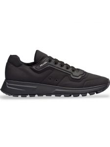 "SNEAKERS ""MATCH RACE"" IN GABARDINA DI NYLON, PRADA"