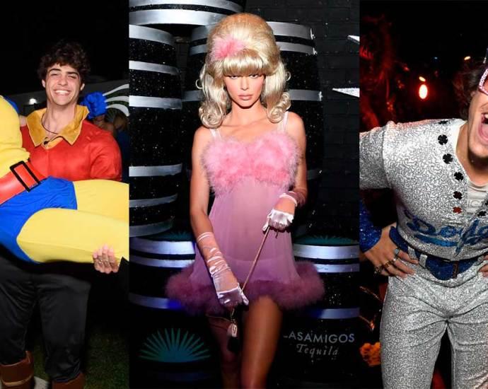 i costumi di halloween delle celebrità - 2018